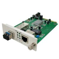 Buy cheap SFP Media Converter Card, Hot Pluggable from wholesalers