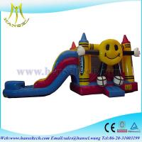 Buy cheap Hansel high quality smile jumping castle blower fun zone machine from wholesalers