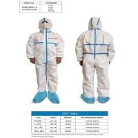 China Hospital Medical Protective Cloth , High Wearer Comfort Medical Protective Coverall on sale