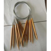 China New products Carbonized CIRCULAR Bamboo Knitting Needles china manufacturer on sale