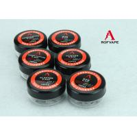 Buy cheap Rebuildable Tank Glass Rda Heating Clapton Coil / Wire for E Cigarette from wholesalers