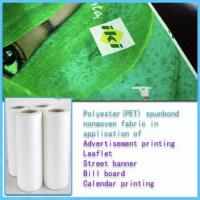 Buy cheap Low shrinkage polyester nonwoven fabric from wholesalers