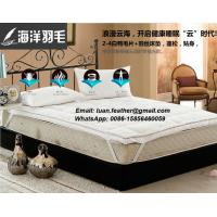 Buy cheap China Factory The Sea Feather Direct Sell Down on Top Feather Bed Mattress Topper featherbed from wholesalers