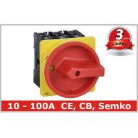 Buy cheap Industrial 100A Motor Isolator Switch , DIN Rail Based Mounting from wholesalers