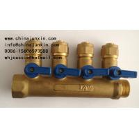 Buy cheap brass Manifold, preser redusing valve, air vent, safety valve,brass fittings,fitting, Radiant Heating Manifold from wholesalers
