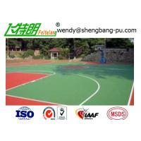 Buy cheap Silicon PU Floor multifunctional outdoor Basketball Court Surfaces Badminton from wholesalers