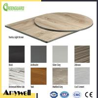 Buy cheap Amywell Fashion 12mm waterproof black core phenolic resin table top product