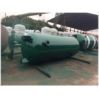 Buy cheap Large Volume Compressed Air Storage Tank , 8 Bar - 40 Bar Portable Air Compressor Tank product