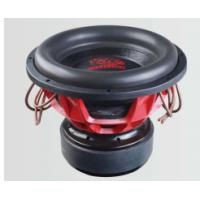 Buy cheap Flat Wire Voice Coil Dual 1 Ohm Subwoofers , Paper Cone Subwoofers Car Audio product