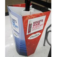 Buy cheap Promotional Cardboard Shop Dump Bins for Chap Stick from wholesalers