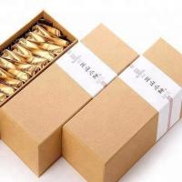 Buy cheap Wholesale ECO custom logo cardboard paper tea gift box shopping packing box for tea from wholesalers