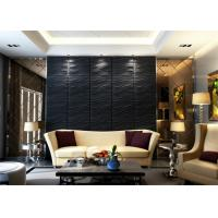 China 100% Polyester Fiber Noise Cancelling Wall Panels , Modern 3d Wall Art Panels on sale