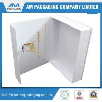 Buy cheap Attractive Cardboard custom apparel stock t shirt boxes packing from wholesalers