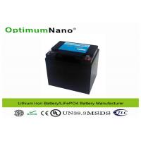 Buy cheap OptimumNano Lifepo4 50ah 12V Lithium Deep Cycle Battery For Solar Energy Storage from wholesalers