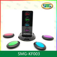 Buy cheap SMG-KF003 Smart Wireless Key Finder with Led Flashlight 1 RF Transmitter and 4 Receivers from wholesalers