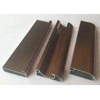 Buy cheap Anti Rust Aluminum Cabinet Door Extrusion/ Frame Extrusions Coffee Color from wholesalers
