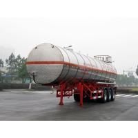 Stainless Steel Gas Tanker Truck Trailer