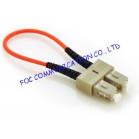 Buy cheap 3.0mm Multimode Fiber Optic Patch Cord Loopbacks Low Insertion Loss For FTTX from wholesalers