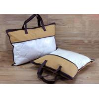Buy cheap Waterproof PVC Blanket Bag Sewing Zipper Plastic Bag For Pillow / Quilt product