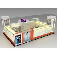 Buy cheap Modern Style Mobile Cell Phone Accessories Kiosk With Fully - Enclosed Structure from wholesalers