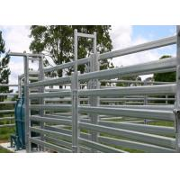Buy cheap Smooth Surface Cattle Yard Panels , Lightweight Livestock Panels Anti Broken from wholesalers