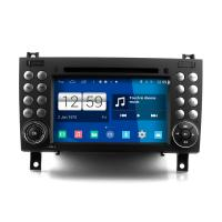 Buy cheap 7 2din android car dvd android 4.4.4 HD 1024*600 for BENZ SLK class with 4 Core CPU, Mirror link from wholesalers