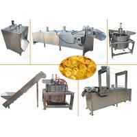 Buy cheap Continuous Banana Chips Making Machine / Industrial Banana Chips Fryer Machine from wholesalers