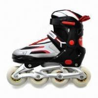 Buy cheap Inline Skates, PU Wheel with Printing, PP Shell from wholesalers