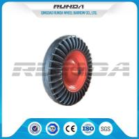 Buy cheap 16 Inch Solid Rubber Wheels Black Tyre Color Steel Rim 150kg Loading For Tractor from wholesalers