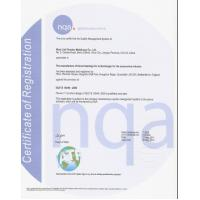 Tonglint Turbo Technologies Co., Ltd. Certifications
