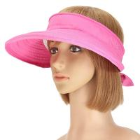 Buy cheap Foldable Face Neck Visor Caps For Women , Anti - UV Wide Brim Sun Protection Visor Hat from wholesalers