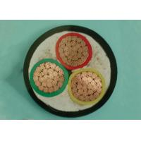 Buy cheap 16mm²  3 Core Steel Wire Armoured Cable Copper Wire Stranded For Laying Indoor product