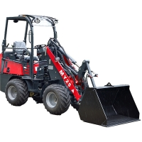 Buy cheap 17 Km/H Articulated Mini Wheel Loader With Weidemann Beehive Mover from wholesalers