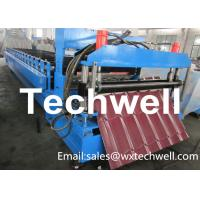 Buy cheap Material Thickness 0.3-0.7mm Roof Tile Making Machine With PLC Touch Screen Control from wholesalers