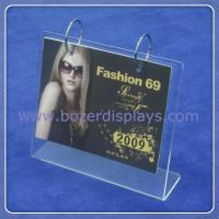 Buy cheap Acrylic Calendar Stand/Custom Acrylic Calendar from wholesalers