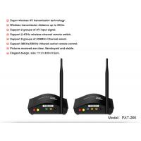 Buy cheap 2.4GHz Long distance 350 meter transmission Wireless Multi TV Transmitter with IR Repeater PAT-266 from wholesalers
