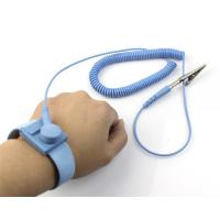 Buy cheap Electrostatic Discharge Wrist Strap With Cord Adjustable w/Alligator Clip from wholesalers