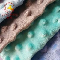 Buy cheap wholesale Super soft 100% polyester Baby Cuddle Minky Dot Plush Fabric from wholesalers