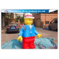 Buy cheap Nylon Inflatable Cartoon Characters , Inflatable Lego Model With Beautiful And Long Durability product