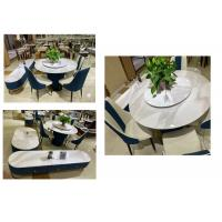 Buy cheap Elegant Coffee Table And Chairs Good Rigidity With Faux Marble Surface from wholesalers