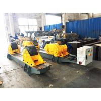 Buy cheap 120Ton Pressure Vessel Tank Turning Rolls Conventional Bolt Adjustable Steel Rollers from wholesalers