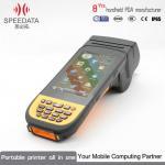 Buy cheap 2D Bar Code PDA Thermal Printer Handheld Label Printer 512MB Memory from wholesalers