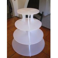 Buy cheap 5 Tiers Acrylic Cupcake Display/Cupcake Holder/Wedding Cupcake Stand from wholesalers