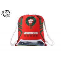 Buy cheap FIFA Morroco Waterproof Patterned Gym Bag , World Cup Yoga Nylon String Bag from wholesalers