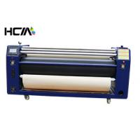 Buy cheap Garment Large Roller Heat Transfer Machine , Digital Heat Transfer Printer Machine from wholesalers