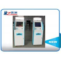 Buy cheap Android system self service visa kiosk with A4 laser printer used in airport from wholesalers
