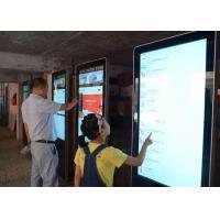 Wall Hanging Led Digital Advertising Display , Indoor Digital Advertising Screens
