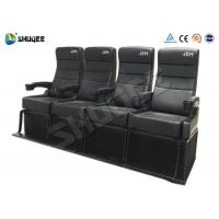 Buy cheap Safety 4D Movie Theater With Pure Hand - Wrapped PU Leather Motion Seats product