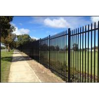 Buy cheap Customized Black Decorative Fence Panels For Highway / Railway / Airport from wholesalers