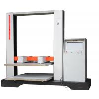 Buy cheap 850kg Box Compression Tester / Paper Compressive Strength Testing Machine from wholesalers